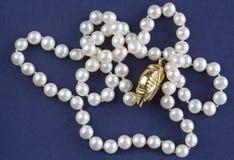 Collana della perla Immagine Stock