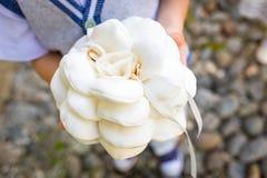 Collana della sposa di bello diamante Fotografia Stock