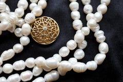 Collana delle perle Fotografia Stock Libera da Diritti