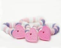 Collana di amore U Fotografie Stock