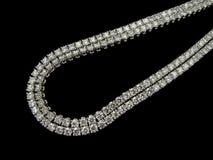 Collana di diamanti Immagini Stock Libere da Diritti
