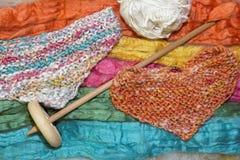 Collana di lana Immagini Stock