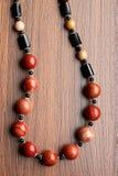 Collana di pietra shebby Immagini Stock Libere da Diritti