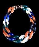 Collana di plastica multicolored illustrazione vettoriale