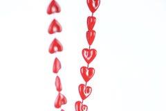 Collana Heart-shaped Fotografia Stock Libera da Diritti