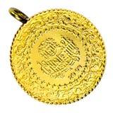 Collana turca della moneta di oro Immagini Stock Libere da Diritti