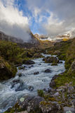 Collanes's river in El Altar volcano Stock Image