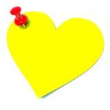 Collant jaune illustration de vecteur