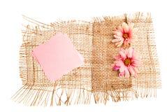 Collants avec des fleurs Images libres de droits