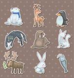 Collants d'animal de l'hiver Photographie stock libre de droits