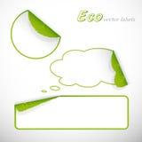 Collants d'Eco avec des lames et des ombres. Photographie stock libre de droits