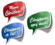 Collants de Noël Photos libres de droits