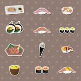 Collants de nourriture de Japaness Photographie stock libre de droits