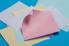 Collants de papier colorés Image stock