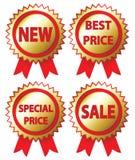 Collants de vente Images stock