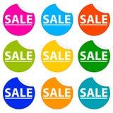 Collants de vente Photo libre de droits