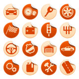 Collants de véhicule Photos libres de droits