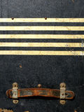 Collants et étiquettes de cas de course de cru Images libres de droits