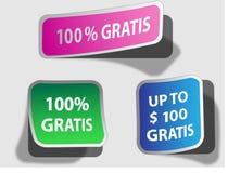 Collants gratuits Images stock