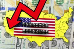 The collapse of the economy