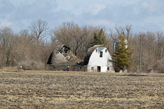 A Collapsed Barn Royalty Free Stock Images