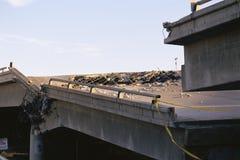 Collapsed bridge Royalty Free Stock Photos