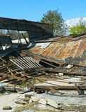 A Collapsed building Royalty Free Stock Photo