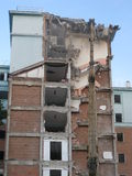 Collapsed buildings. Royalty Free Stock Photos