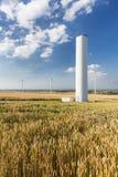 Collapsed Wind Turbine Royalty Free Stock Photo