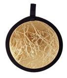 Collapsible circular reflector Stock Photo