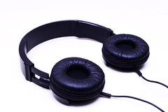 Collapsible headphones Royalty Free Stock Image