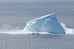 Collapsing Iceberg Royalty Free Stock Photography