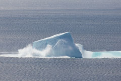 Collapsing Iceberg Stock Photos