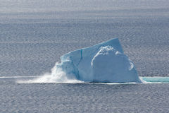 Collapsing Iceberg Stock Images