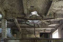 Collapsing structures Stock Photos