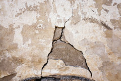 The collapsing wall Royalty Free Stock Image