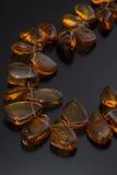 Collar ambarino Imagen de archivo libre de regalías