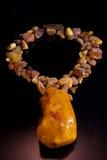 Collar ambarino báltico imagen de archivo libre de regalías