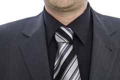 Collar of a businessmann Royalty Free Stock Photo