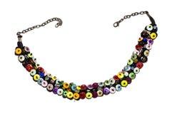 Collar colorido de la lentejuela Fotografía de archivo libre de regalías