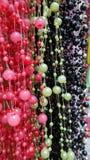 Collar colorido de las gotas Foto de archivo