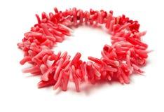 Collar coralino Imagen de archivo