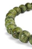 Collar de granos de la serpentina Foto de archivo libre de regalías
