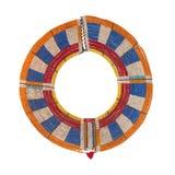 Collar de la boda del Masai Imagenes de archivo