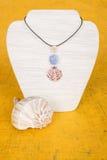Collar #4 de la concha marina Imagenes de archivo