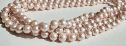 Collar de la perla Imagen de archivo libre de regalías