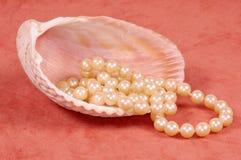 Collar de la perla Fotografía de archivo