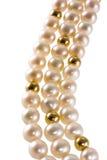 Collar de la perla Foto de archivo
