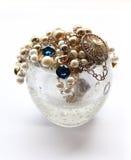 Collar de la perla Imagen de archivo