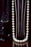 Collar de la perla Imagenes de archivo
